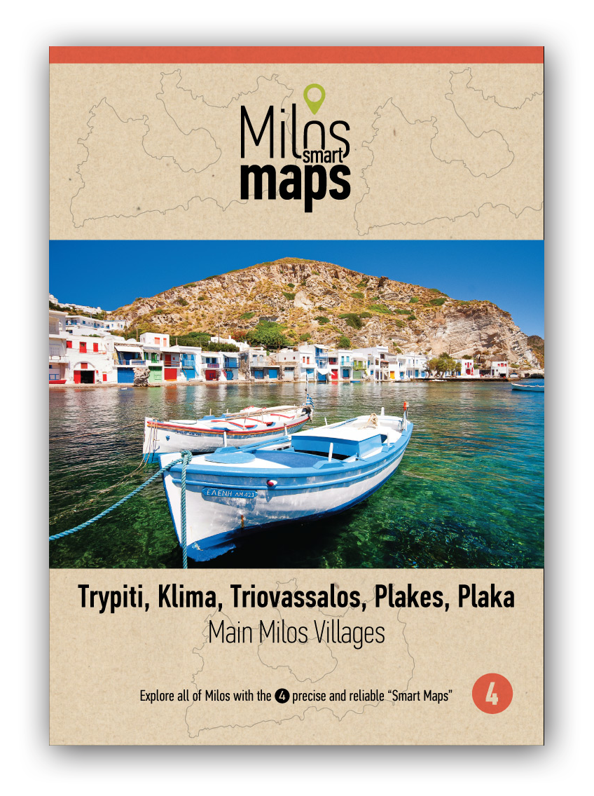 Milos Main Villages Map