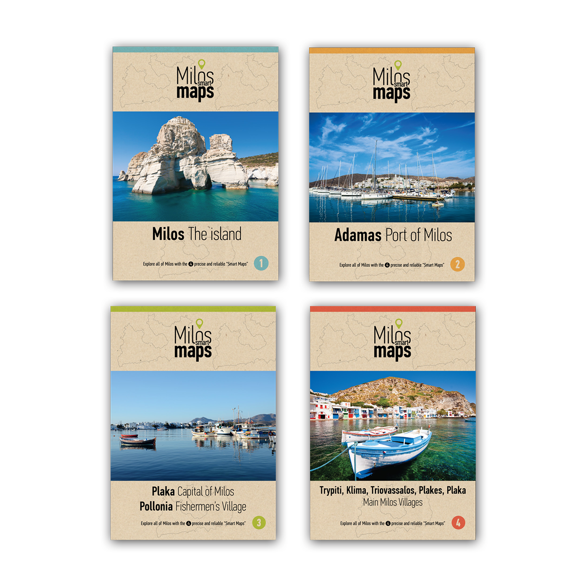 Milos Smart Maps Collection